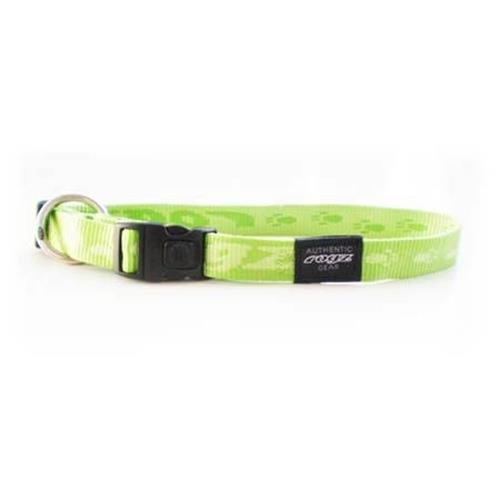 Rogz Alpinist K2 Lime Dog collar - Large