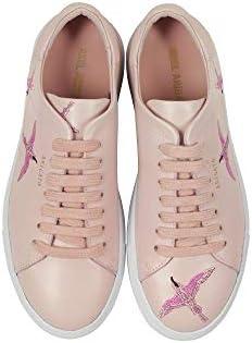 AXEL ARIGATO Luxury Fashion Femme 98517DUSTYPINK Rose Cuir Baskets | Printemps-été 20