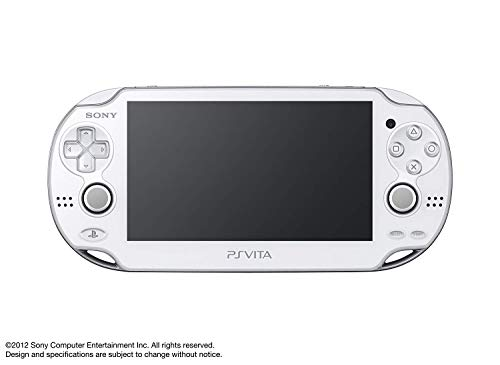 Sony Playstation Vita OLED 1000 Series WiFi, White (Renewed)