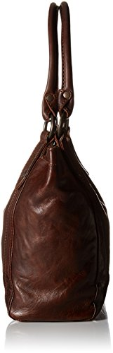 Brown Dark Leather Handbag Melissa FRYE Shoulder qX17xwTnI4