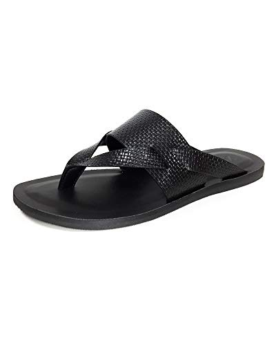 Zara Men Embossed Sandals 2708/002 (41 EU   8 US  , used for sale  Delivered anywhere in USA