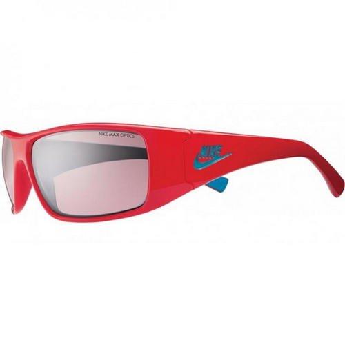 Nike Grind Sunglasses, Hyper Red/Neo Turquoise, Vermillion Flash - Vermillion Sunglasses
