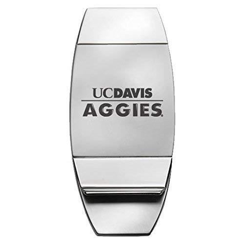 University of California, Davis - Two-Toned Money Clip - Silver ()