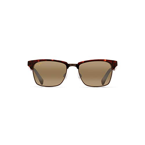 (Maui Jim Kawika H257-16C | Sunglasses, Tortoise, with with Patented PolarizedPlus2 Lens Technology)