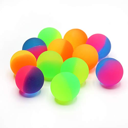 Kicko ICY Ball 38mm 1.5 Inch - Frozen Ball - High Bounce ICY Ball 12 Pack - Small Game Prize]()