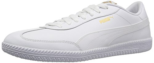 Puma White Shoes (PUMA Men's Astro Cup Leather Sneaker, White White, 9 M US)