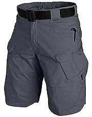 PABUTB 2021 Opgewaardeerd Waterdichte Tactische Shorts, Waterdichte Outdoor Tactische Shorts voor Mannen