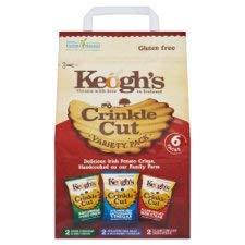 Keogh's Crinkle Cut Variety 6 - Chips Crinkle
