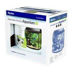 Aqueon 06439 Bow Front Aquarium Kit 26, Black