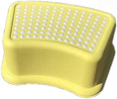 黄色いトイレオスマン多機能プラスチックスツール肥厚防水滑り止めシンプルな風は便秘、膨満感を和らげます(37 * 26 * 13.5 cm)