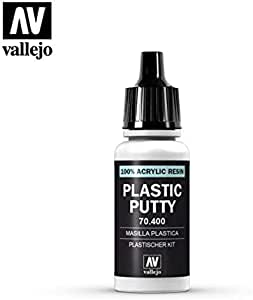 Vallejo VAL400 Plastic Putty 17ml: Amazon.es: Oficina y papelería