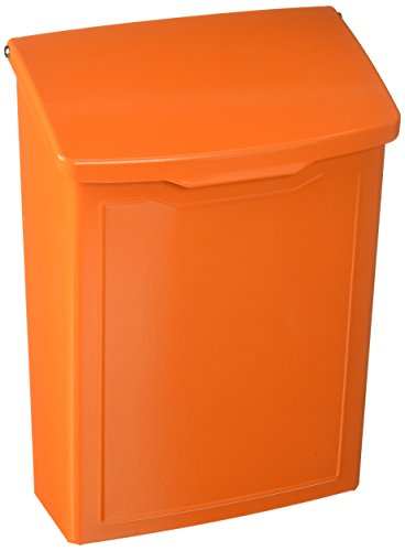 Architectural Mailboxes 2681O Marina Wall Mount Mailbox Orange Marina Wall Mount Mailbox, Small by ARCHITECTURAL MAILBOXES