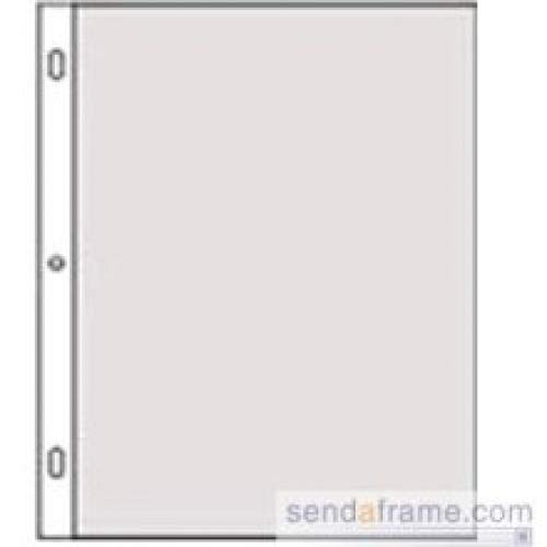 Genuine Post Impression / Graphic Image™ 8.50x11 Slip-in Pocket Refills for Standard 3-ring albums - 8.5x11