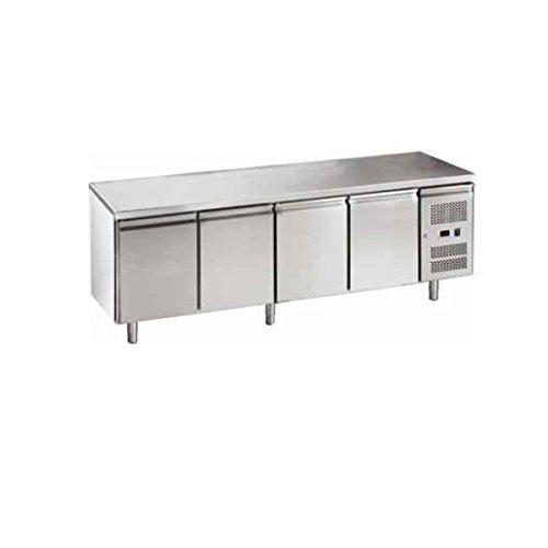 Mesa Congelador Gastronomia GN1/1 Ventilado 4 puertas acero ...