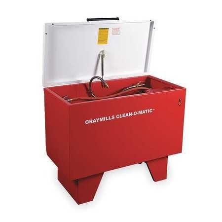 - Parts Washer, Solvent, 42 Gal, Cap 500 Lb