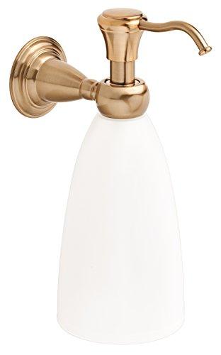 Victorian Wall Mounted Soap Dispenser (Delta 75055-CZ Victorian Bath Hardware Accessory Soap Dispenser, Champagne Bronze)
