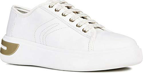 Pelle Nr Geox Sneacker Bianco D92bya Donna 40 nB1XqZO1