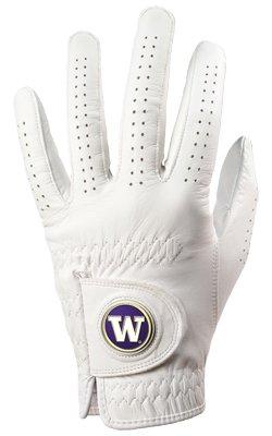 Washington Huskies Golf Glove & Ball Marker – Left Hand – Medium B00BFLOEBY