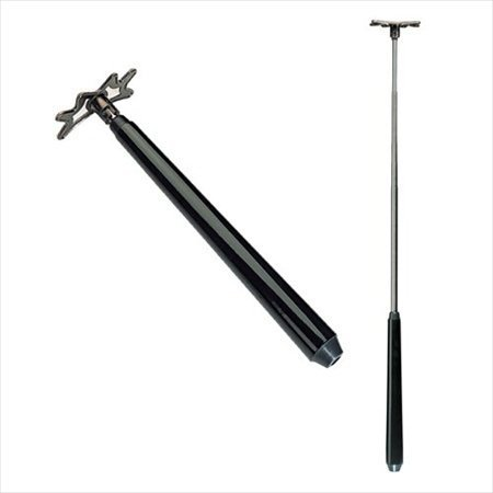 East Eagle Retractable Pool Bridge Stick (Black) ()
