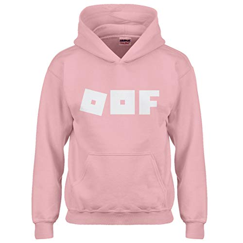 Indica Plateau Kids Hoodie Oof Youth S - (6-7) Light Pink ()