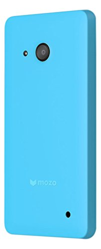 first rate 036f2 7b4f5 Mozo Back Cover Case for Microsoft Lumia 550 - Blue