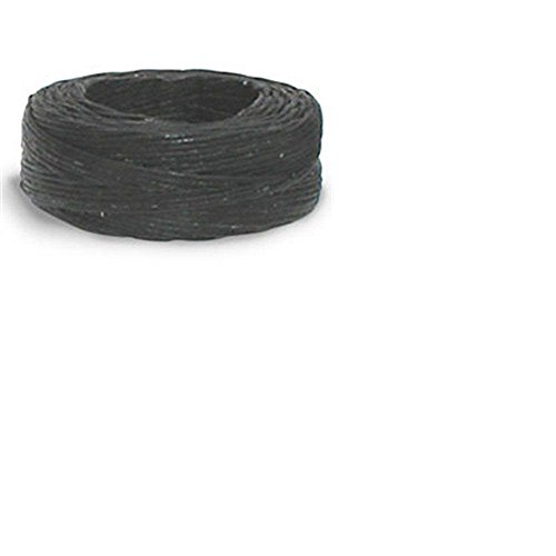 Tandy Leather Waxed Thread 25 yds. (22.9 m) Black
