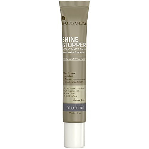 Paula's Choice-SHINE STOPPER Instant Matte Finish Oil Control Primer-Minimize Facial Pores, Reduce Shine, Long Wear-1-1 oz Bottle by Paula's Choice