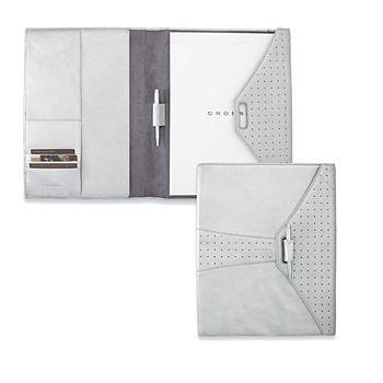 - Cross Autocross Leather, Padfolio, Metallic Silver, Pen Included (AC135-14)