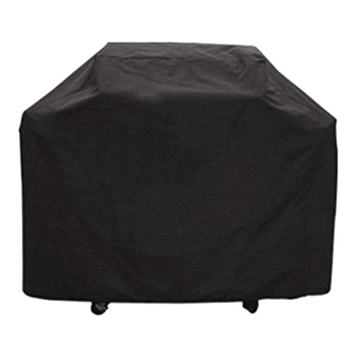 ATR Garden Rattan Garden Cover Kit BBQ Dust Cover Oxford Fabric Waterproof Outdoor Rectangle Anti UV Table Rectangle Black Canopy Awning Cover Outdoor Cover, 5 Sizes (Furniture Garden B&ms)