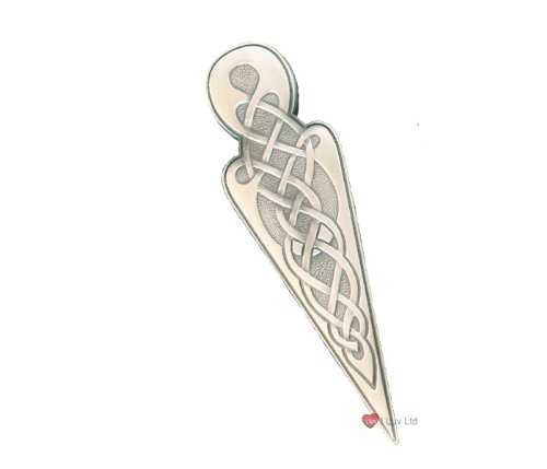 Celtic Knot Kilt Pin Antique