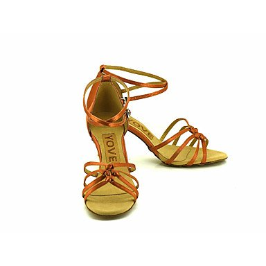 bronze Latino baile Tacón Personalizables Zapatos Otro Salsa Personalizado de t8wpF