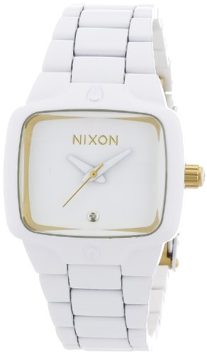 Nixon Small Player All White Ladies Watch A3001035