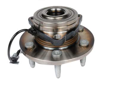 (ACDelco FW346 GM Original Equipment Front Wheel Hub and Bearing Assembly with Wheel Speed Sensor and Wheel Studs)