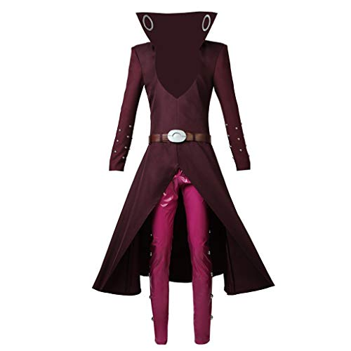 CosplayDiy Men's Suit for The Seven Deadly Sins Fox's Sin of Greed Ban Cosplay Costume M