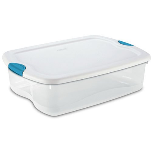 School Specialty STERILITE 18868006 Latch Storage Box, 32...