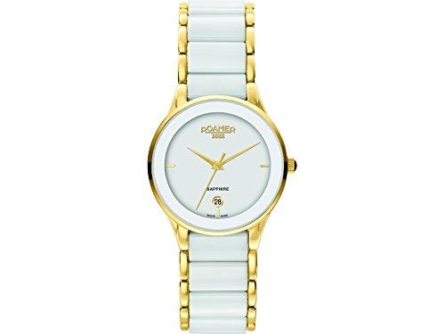 Roamer Women's Quartz Watch CERALINE 677981 SGC1 with Metal Strap