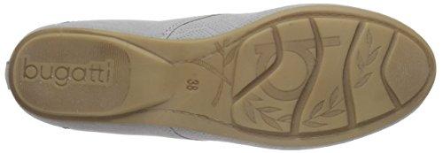 Bugatti J48293 - Zapatos Derby Mujer Gris - gris (gris 160)