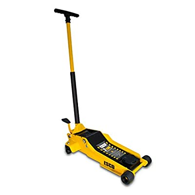 "ESCO 90520 2 Ton Pro Series Floor Trolley Jack, Super Low Profile – 2.95"" Minimum Height"