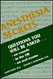 Anesthesia Secrets, James Duke, Stuart G. Rosenberg, 1560531533