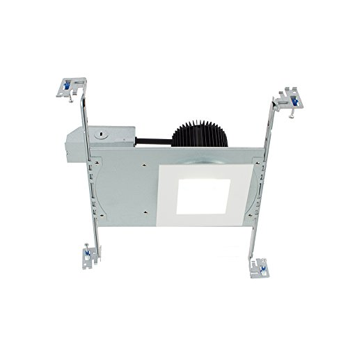 WAC Lighting HR3S-S30F-WT Summit LED Energy Star Non-IC Airtight Remodel Recessed Downlight with Square Trim, 3.5