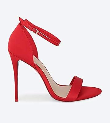 93d43d845ee Aldo Red Heel Sandal For Women: Amazon.com