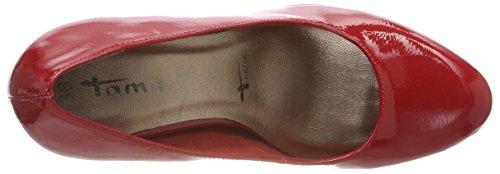 Tamaris Patent 520 22426 Scarpe Rosso Chili con Tacco Donna rraq0