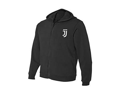 JUVENTUS Felpa Ufficiale Bambino//Ragazzo F.C Varie Taglie Disponibili Collezione Black And Withe