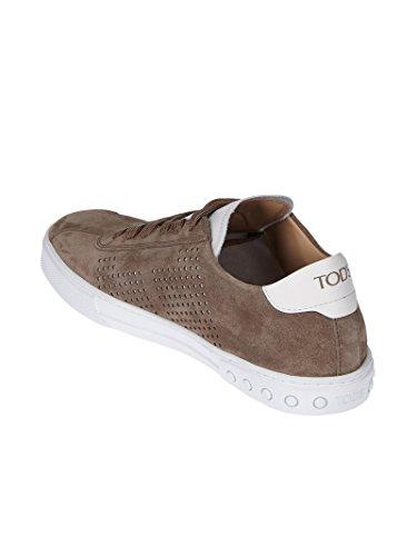 Tod's XXM0XY0X990EYD56FF Marrone Sneakers Camoscio Uomo rqwZECr