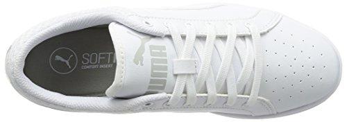Femmes Chaussures Lo Cheville Ikaz Blanc Puma Casual À Baskets Lacets Rembourrée dtqC6E6w