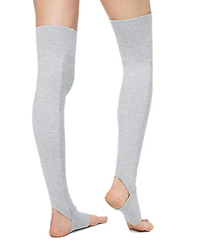 STUDIO LEGWARMER - HCOR (Heathered Core Light Grey) (One Size)