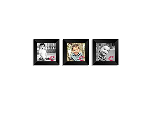 eCraftIndia Memory Wall Collage Photo Frame Set of 3 individual photo frames