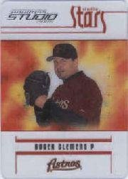 (2005 Studio Stars Baseball Card #9 Roger Clemens)