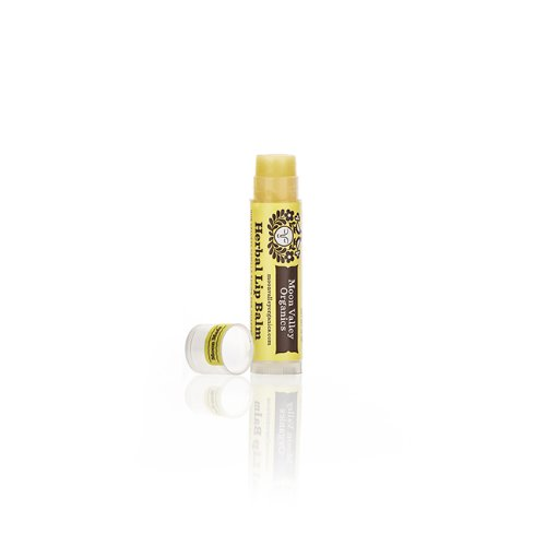 Organic Herbal Lip Balm - Velvety Vanilla