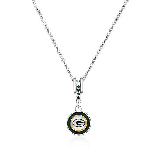 Pro Specialties Group NFL Green Bay Packers Charm Necklace